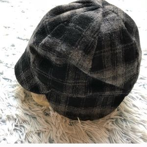Accessories - Adorable, warm & stylish Plaid hat with ear covers